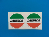 LAVERDA helmet sticker /decal x2